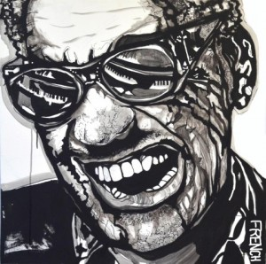 Ray Charles by Joy French